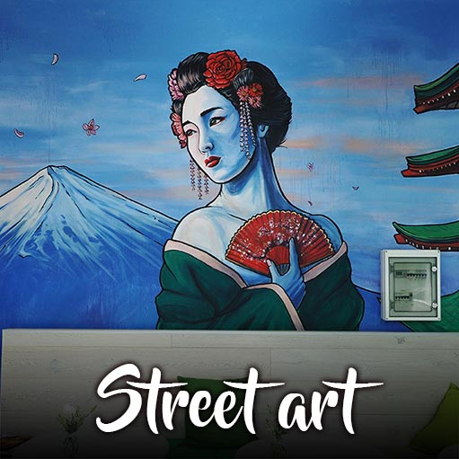 Street art and mural art services