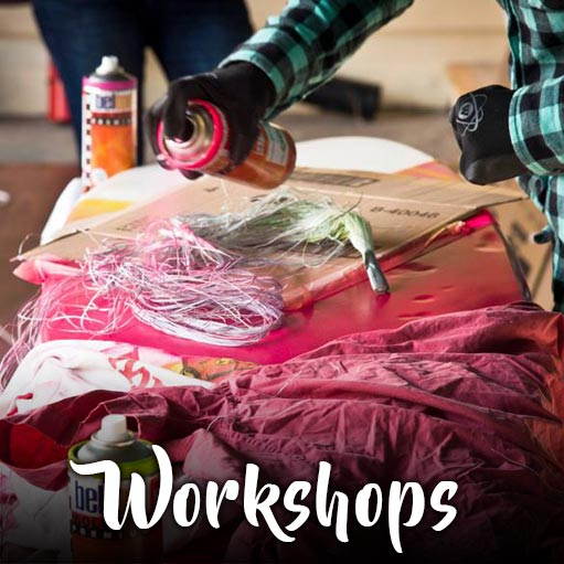 Workshops art services